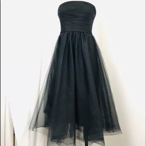J Crew Tulle Pleated Dress NWT